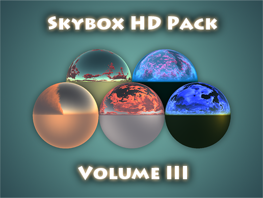 CGY: Skybox HD Pack Vol 3 is now available in Unity Asset Store