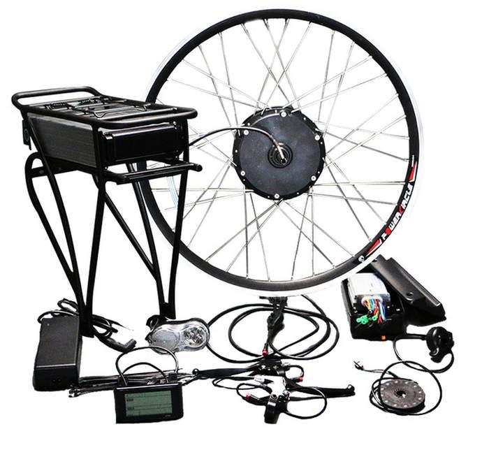 Kit conversão bicicleta elétrica