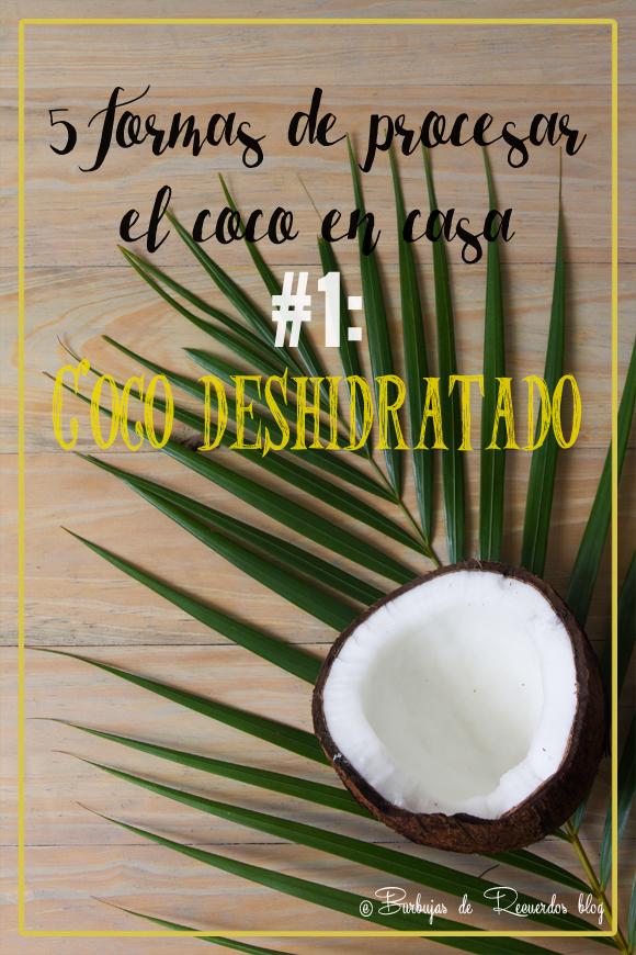 5 formas de procesar el coco en casa #1:  trufas de coco, zanahorias y naranja