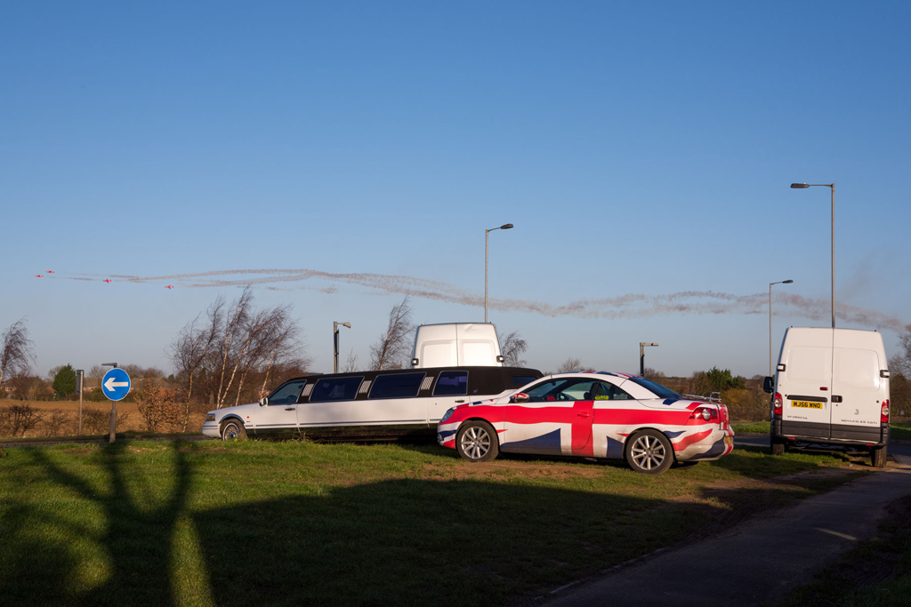 German car with Union flag livery - copyright ChrisGoddard