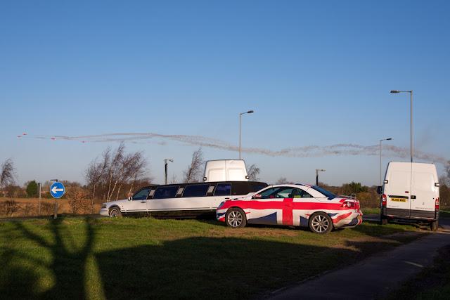 German car with Union flag livery - copyright ChrisGoddard