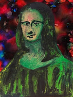 Brian Moss Mona Lisa Psychedelic