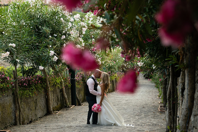 Wedding portrait in Ravello