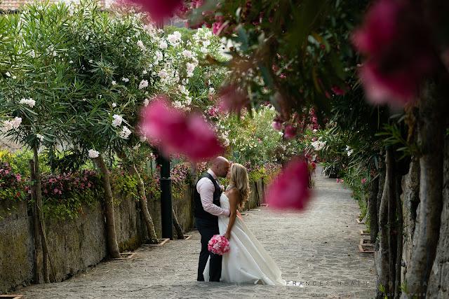 Wedding portrait in Ravello