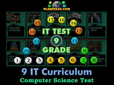 ИТ Тест за 9 клас