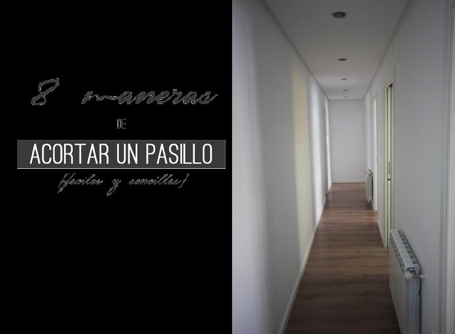 C mo pintar el pasillo decoraci n for Papel para pasillos