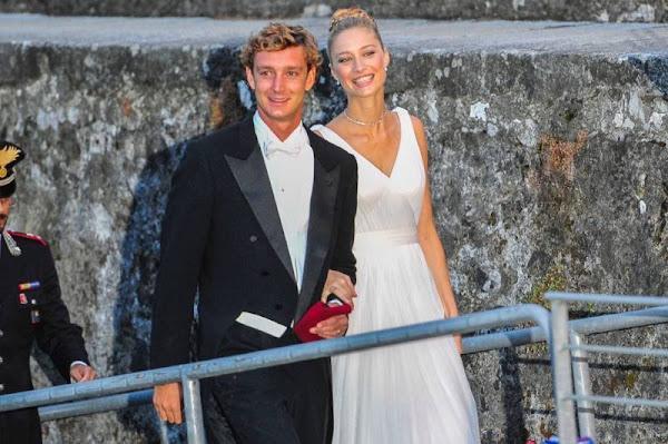 Borromeo wedding beatrice Pierre Casiraghi