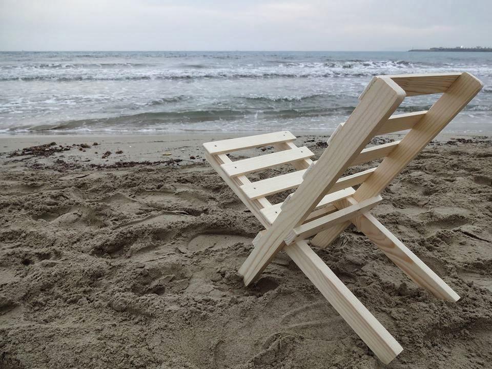Arte en madera mobiliarios - Sillas plegables de playa ...