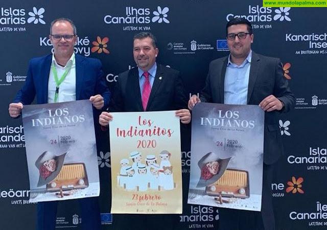 Santa Cruz de La Palma promocionó la fiesta de los Indianos en Fitur