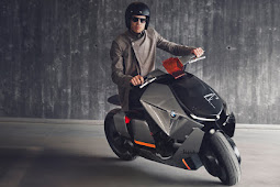 BMW Concept Link Scooter leans into the future [w/Video]