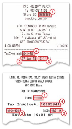 KFC消费单据可让你获得10%折扣!