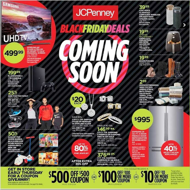 JCPenney Black Friday 2017 Ad