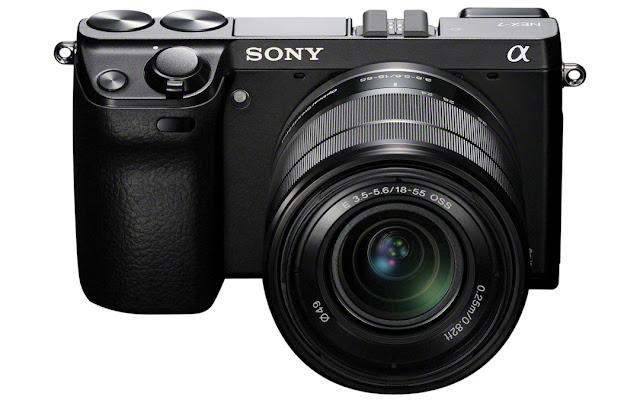 Fotografia della Sony NEX-7