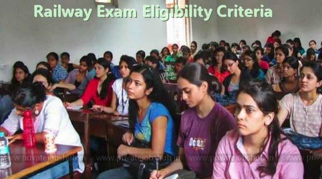 Railway Exam Eligibility Criteria