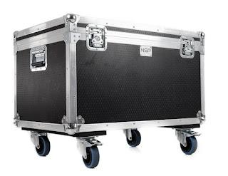 Flightcase o cajón de transporte