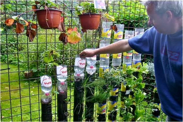 Vertikaler Garten Selber Machen Zuhause Image Idee