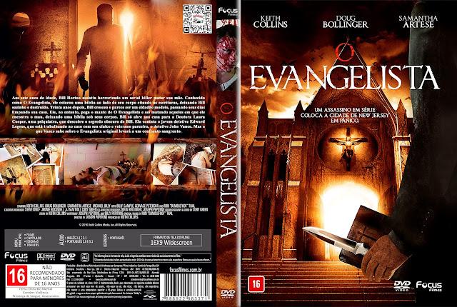 Capa DVD O Evangelista [Custom]