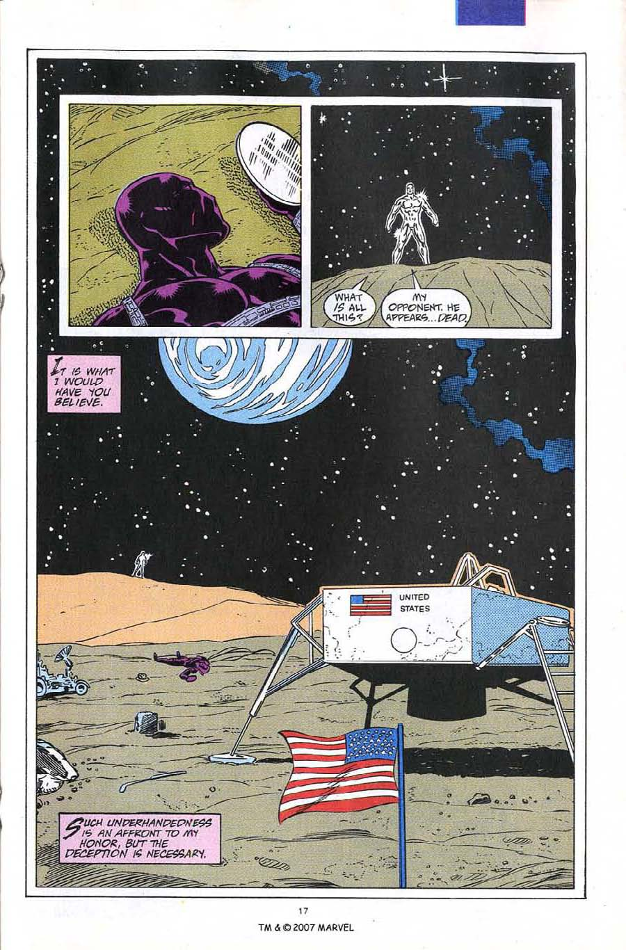 Read online Silver Surfer (1987) comic -  Issue #60 - 19