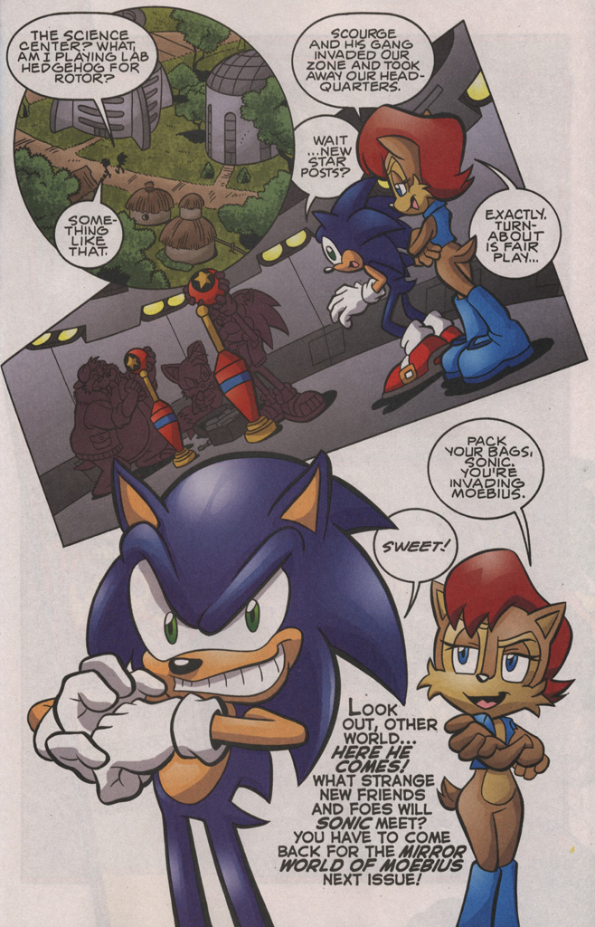 Read online Sonic The Hedgehog comic -  Issue #192 - 20