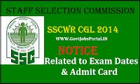 SSC CGL Western Region