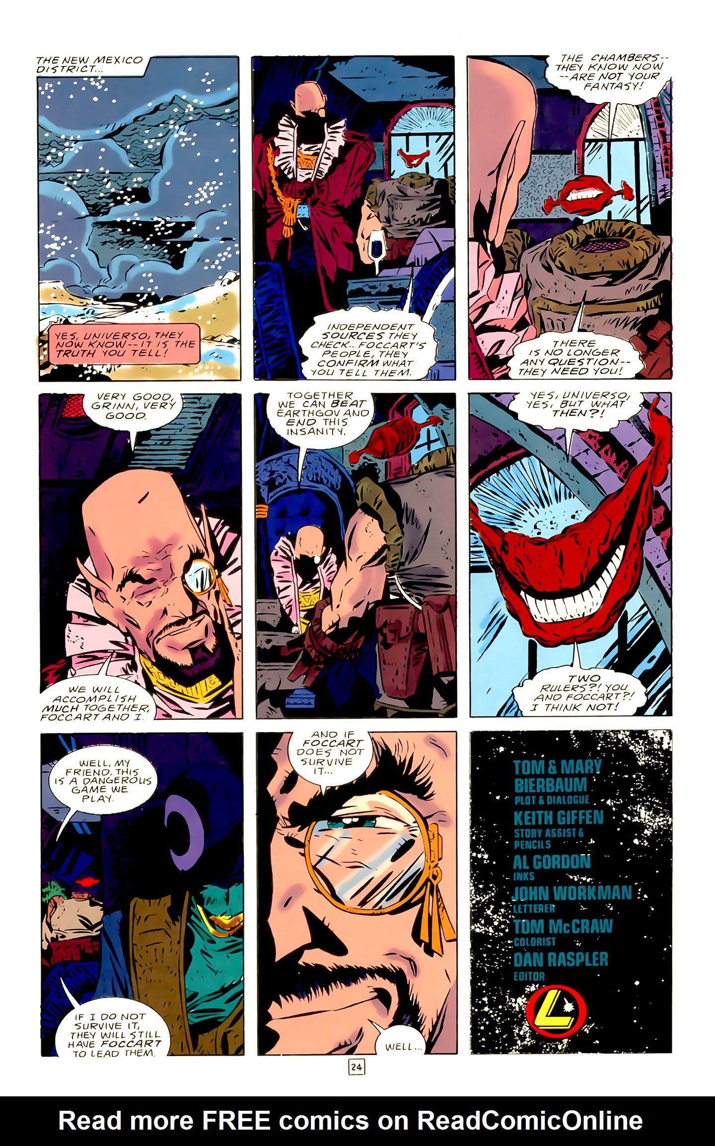 Legion of Super-Heroes (1989) 21 Page 24