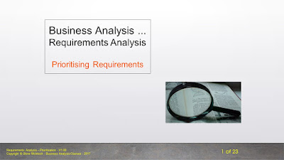 Courseware Example - Business Analysis