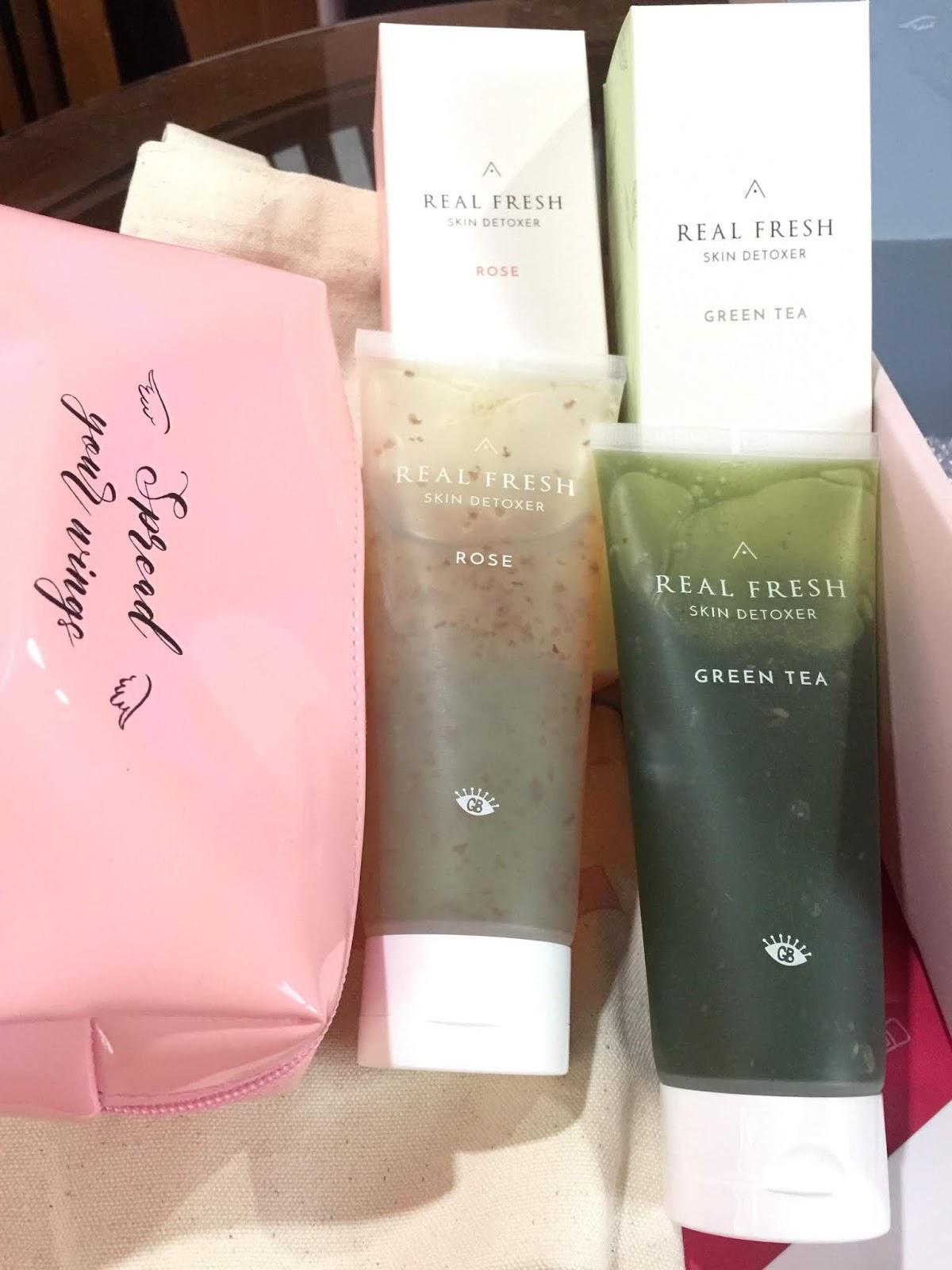 skin detox, perawatan wajah, althea angel, althea produk, khas untuk wanita