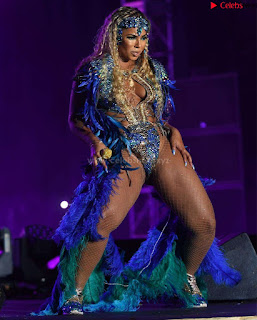 Ashanti huge  at Carnival in Trinidad and Tobago wearing   celebs.in Exclusive Pics 010