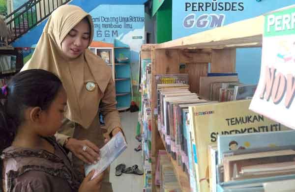 Cerita Tiga Perempuan Hebat Membangun Perpustakaan Desa GGM, Perpusdes Terbaik Nasional 2018