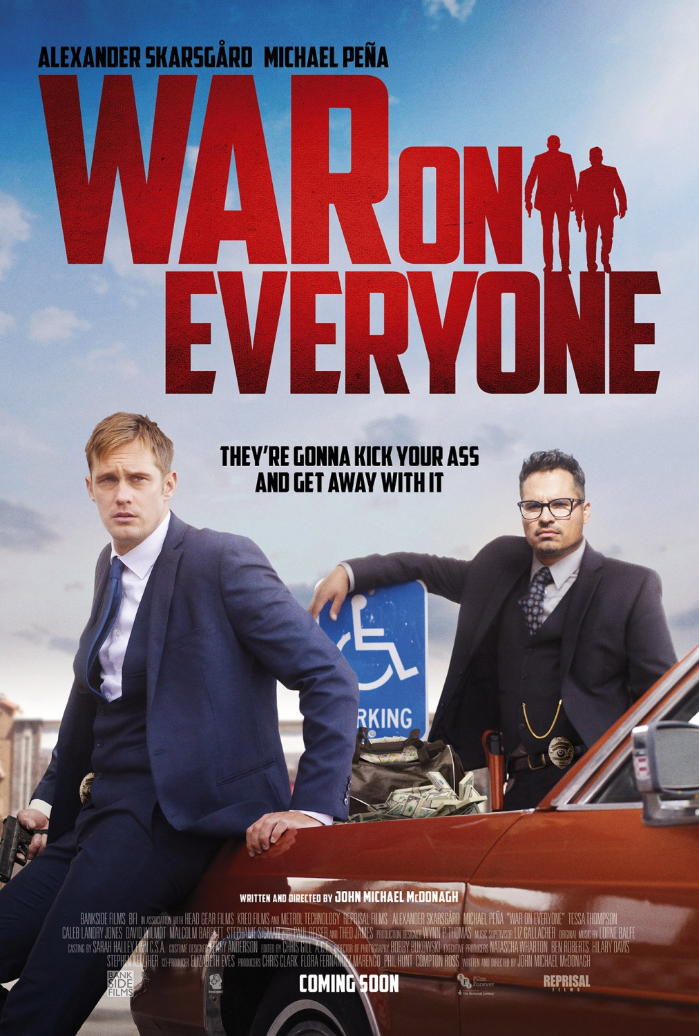 Nonton Film War on Everyone (2016)