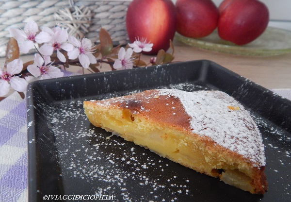 Torta 7 vasetti alle mele caramellate allo zenzero