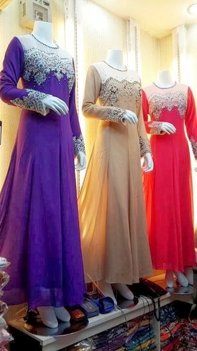 2014 dress muslimah online malaysia cantik