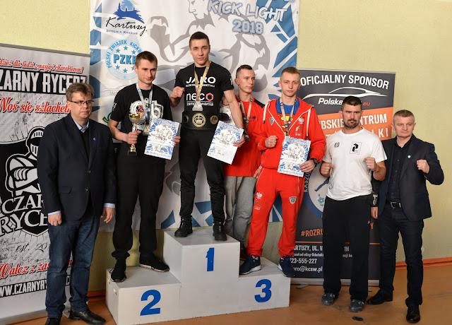 Mistrzostwa,2018,kick light,Kartuzy,Połoński,Kalisz,Kacieja,Zimoch,Tyszkiewicz,PZKB