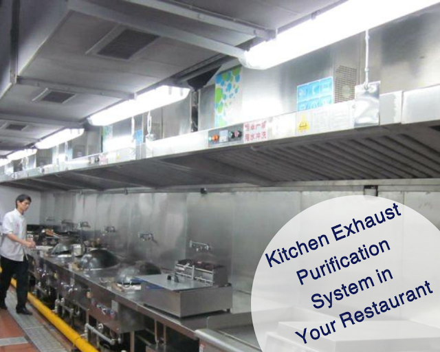 kitchen exhaust purification system