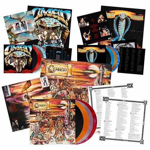 OMEN: Επανακυκλοφορούν σε βινύλιο τα τρία πρώτα τους albums