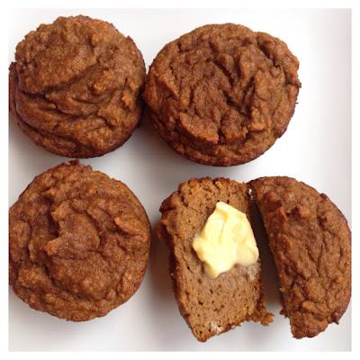 healthy banana pumpkin muffins recipe