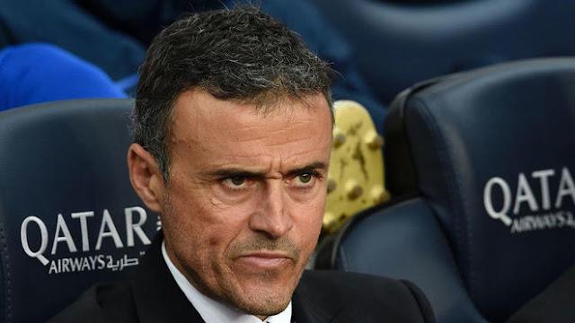 Luis Enrique não deve renovar com o Barcelona depois de goleada para o PSG (Foto: Ramiro Aldunate/AFP)