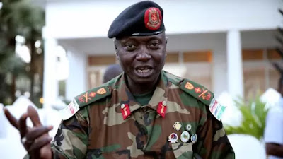 Gambia's army chief, Ousman Badjie.