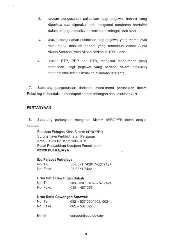 Sistem Eproper Oleh Suruhanjaya Perkhidmatan Pelajaran Spp