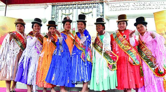 Todo listo para la Cholita Paceña 2016