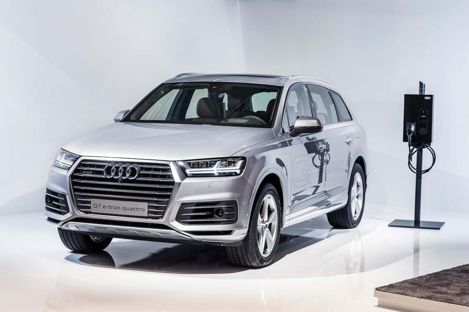 Audi Q7 chạy điện là một bước đi táo bạo của Volkswagen