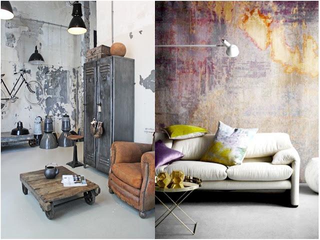 Colores de la Decoracion Industrial
