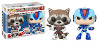 Pop! Games: Marvel vs. Capcom: Infinite Rocket Racoon vs Mega Man X