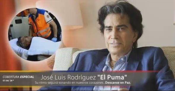 "La falsa muerte del cantante ""El Puma"" 16 agosto"