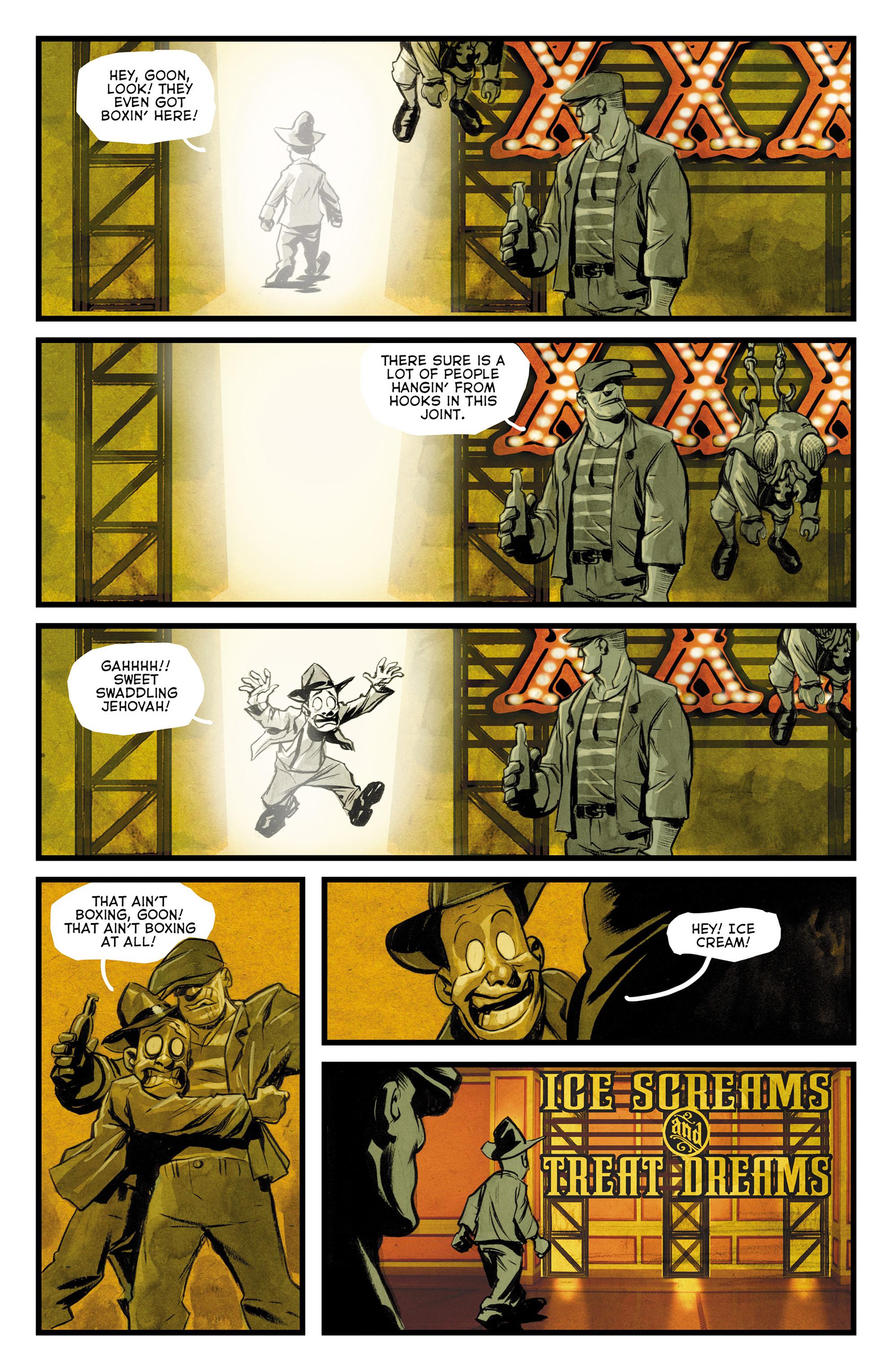 Read online The Goon: Theatre Bizarre comic -  Issue # Full - 15