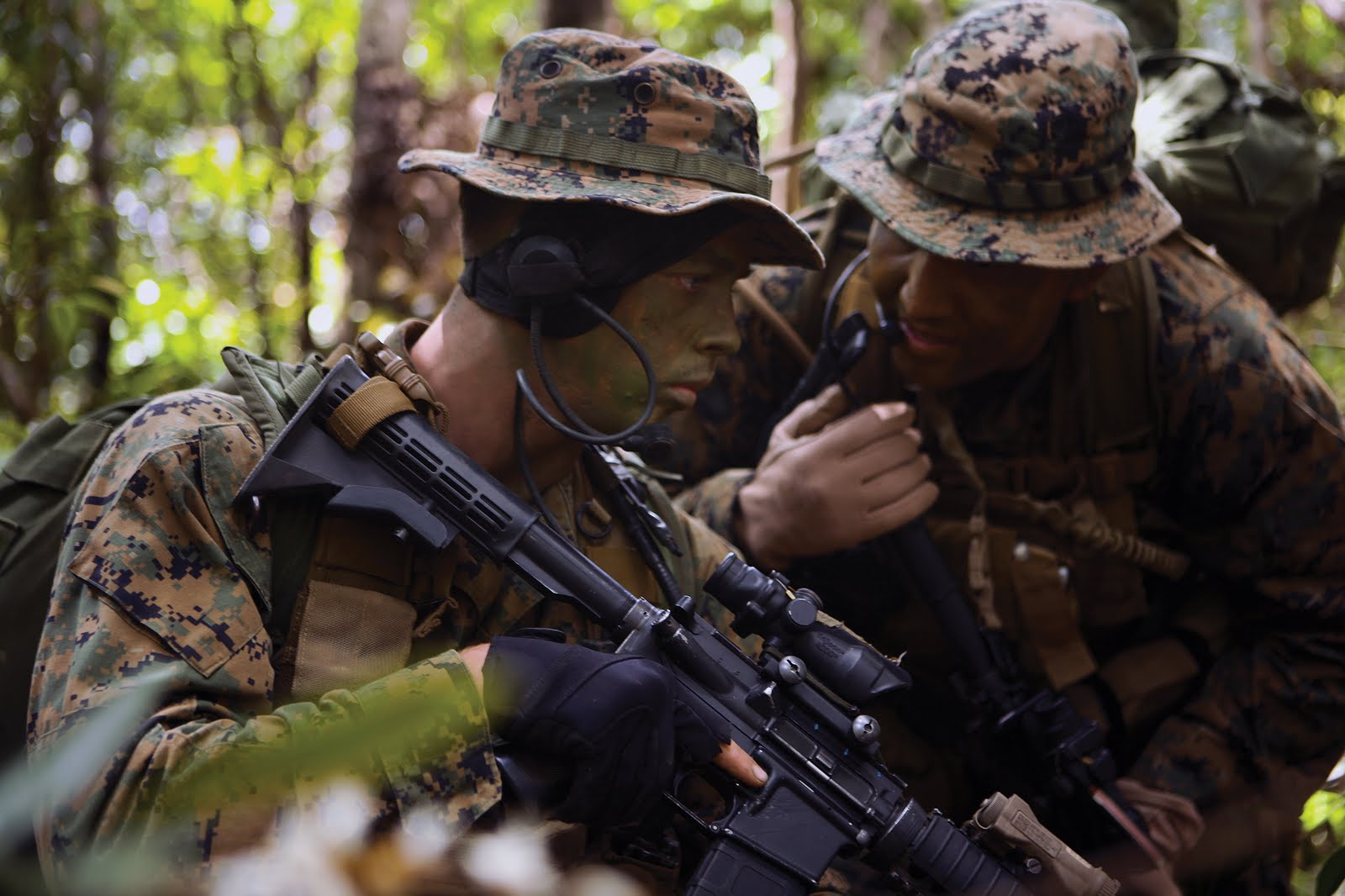 U.S. Marines • Jungle Recon Patrols • Okinawa, Japan