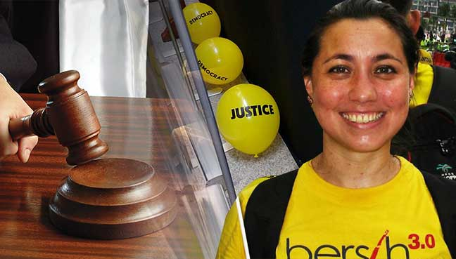 Bilqis Bebas Tuduhan 'Biadap' Jatuhkan Belon Atas Najib