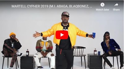 WATCH: M.I, BLAQBONEZ, A-Q, AND LOOSE KAYNON PUT NIGERIAN RAP BACK IN THE GAME