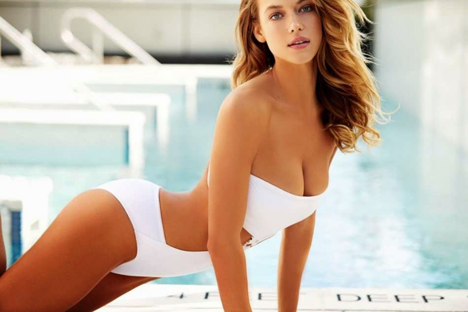 Hannah Ferguson flaunts curves for SI Swimsuit's 'Summer of Swim' photoshoot