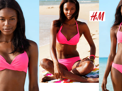 H & M  | Lookbook Swimwear  | Primavera/verão 2013